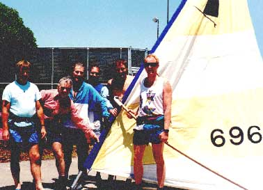 Windsurfer Classic races required you to sail an original Windsurfer.